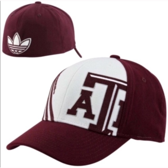 finest selection 65d4e 6fb35 Texas A M Aggies 3 stripe flex hat L   XL
